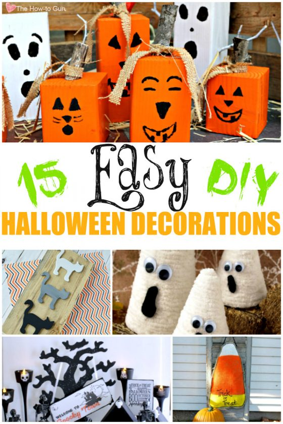 How To DIY Halloween Decorations That Are Easy & Adorable!