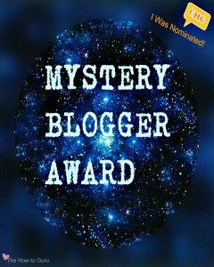 I Was Nominated For The Mystery Blogger Award, Y'all!