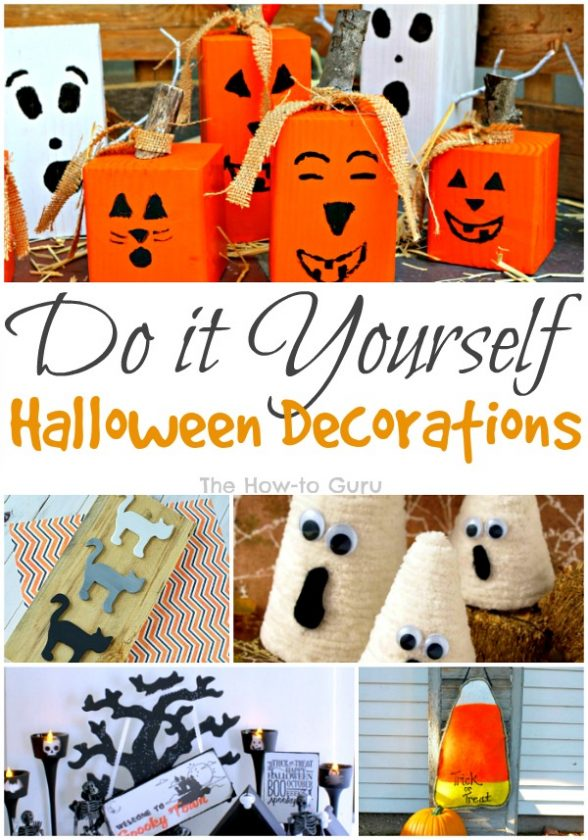 CUTE & Classy DIY Halloween decorations that are SO easy to add fun to the home!