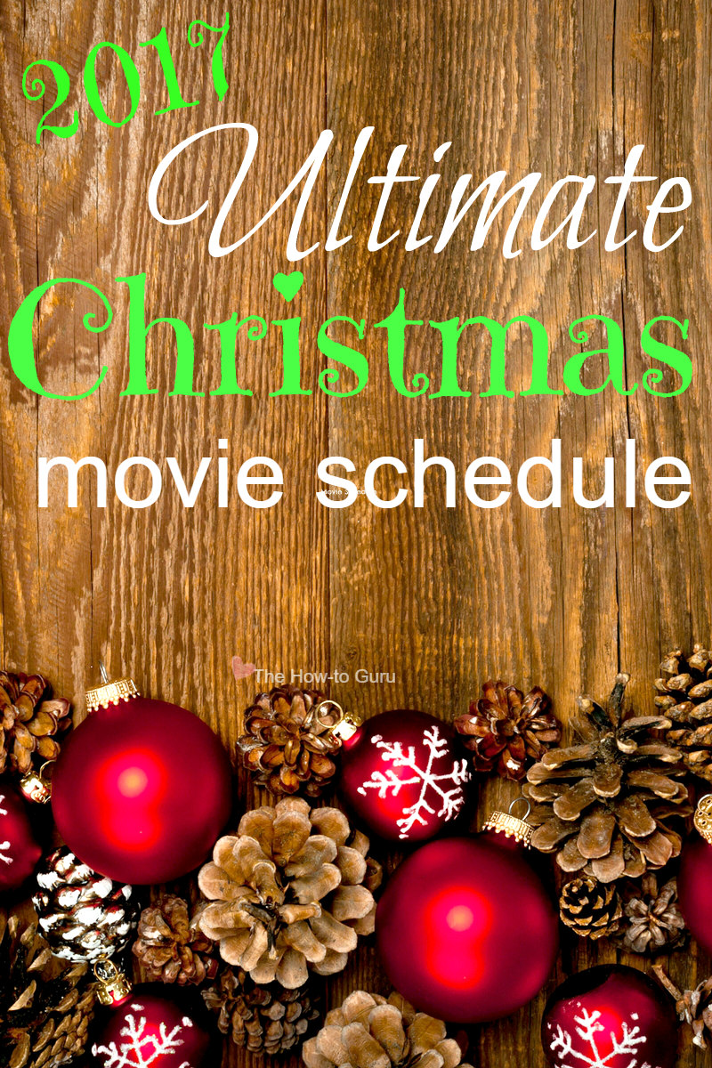 Ultimate list of the NEW Hallmark Christmas movies and classic 25 Days of Christmas movies for your family and mine.