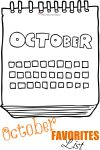 check out her AWESOME October Favorites