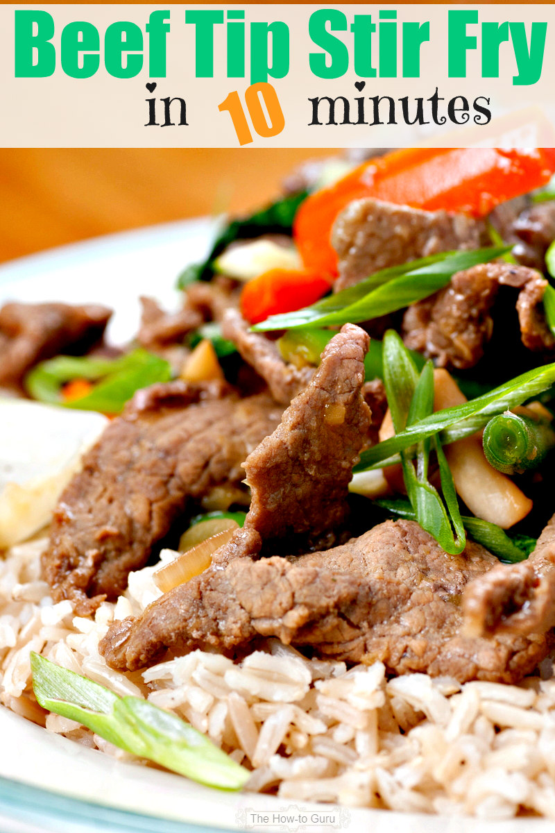 How To Make The Best Beef Stir Fry Recipe If You Only Have 10 Minutes