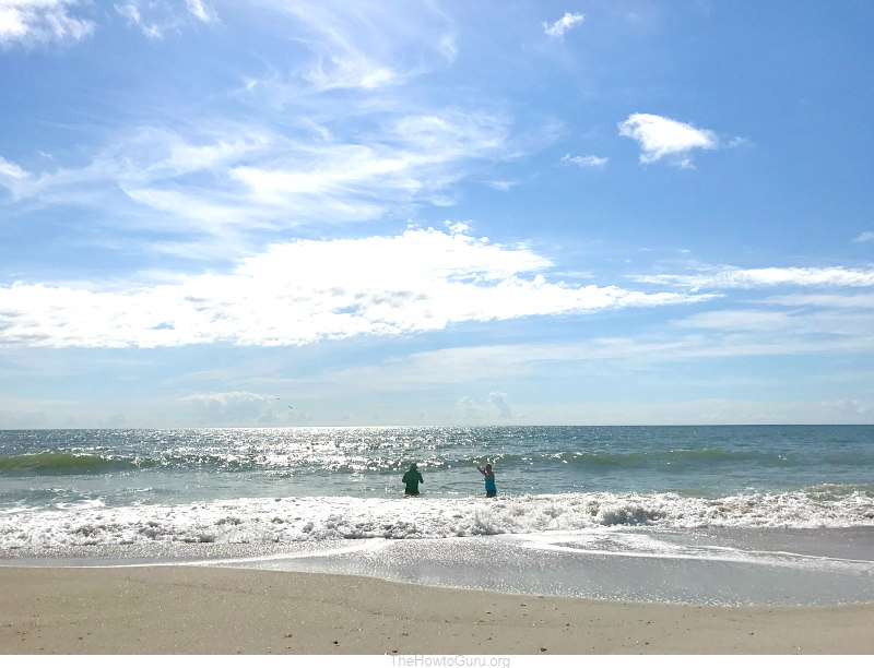 Secluded Fernandina beach Florida spot