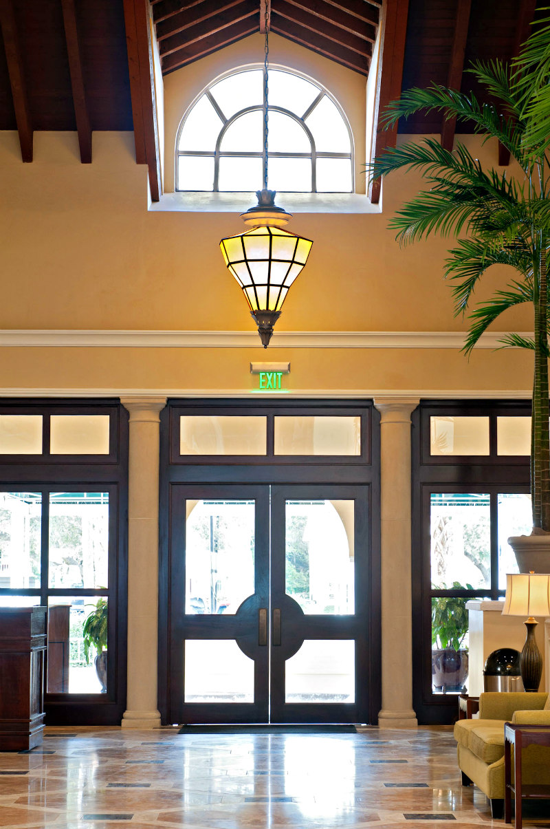 View of the spectacular King and Prince Beach Resort Lobby on St. Simons Island Georgia