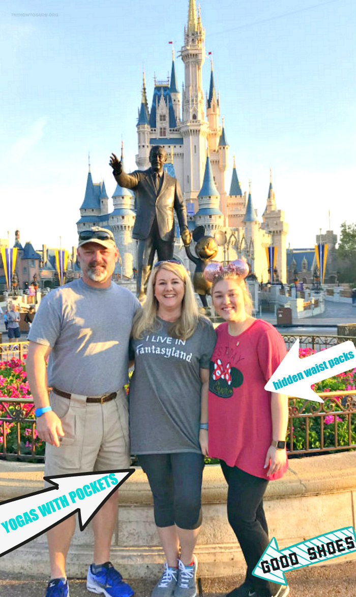 Disney packing list advice, what to pack & what not to pack, and a free Printable Packing Checklist!