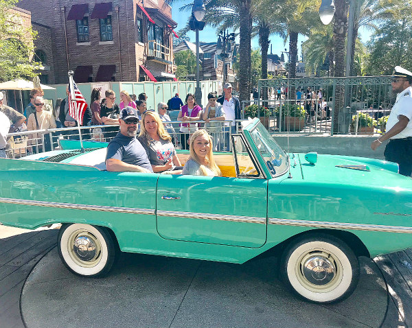 There are so many exciting things to do at Disney for tweens, teens, and older kiddos that the whole family just might have more fun than ever before - Amphicar