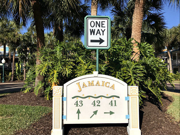 There are so many exciting things to do at Disney for tweens, teens, and older kiddos - Caribbean Beach Resort sign