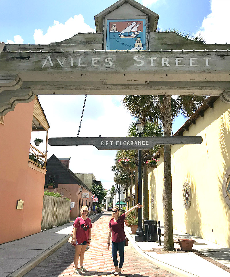 St Augustine Day Trip - Top 6 Family Friendly Things To Do - Aviles Street