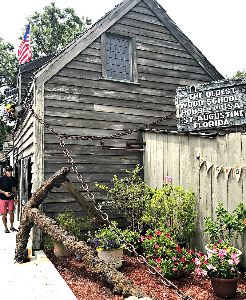 St Augustine Day Trip - Top 6 Things to Do - Oldest Wood School House in the USA