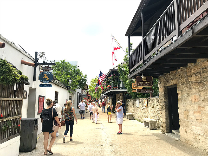 St Augustine Day Trip - Top 6 Things to Do - Aviles Street Shops