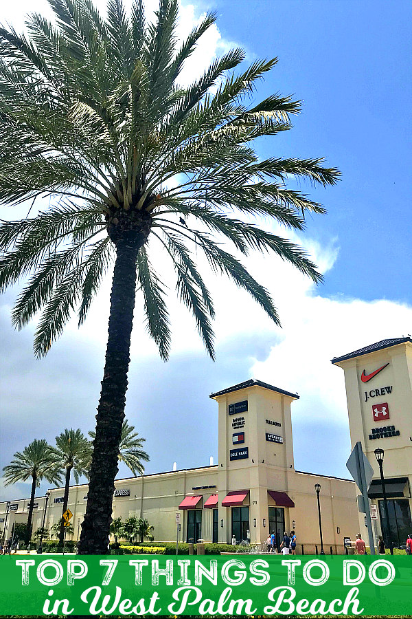 Seven best things to do in West Palm Beach Florida - shopping!