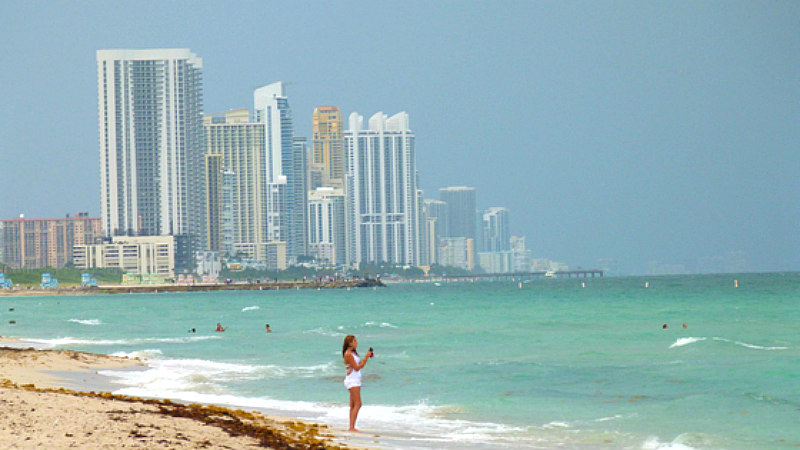 How and why to peek at Miami Beach with kids - Miami Beach AND high rise buildings in the backdrop