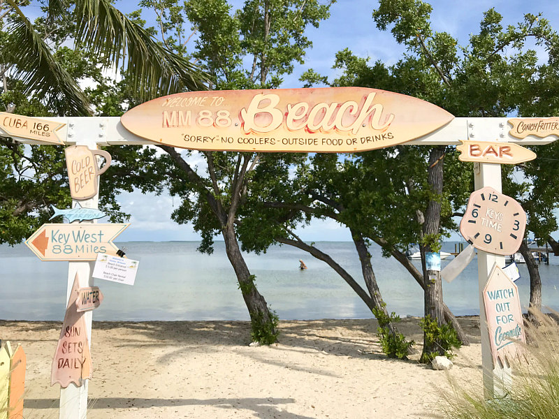 Family Travel Guide to Islamorada Florida Keys - Marker 88 Beach