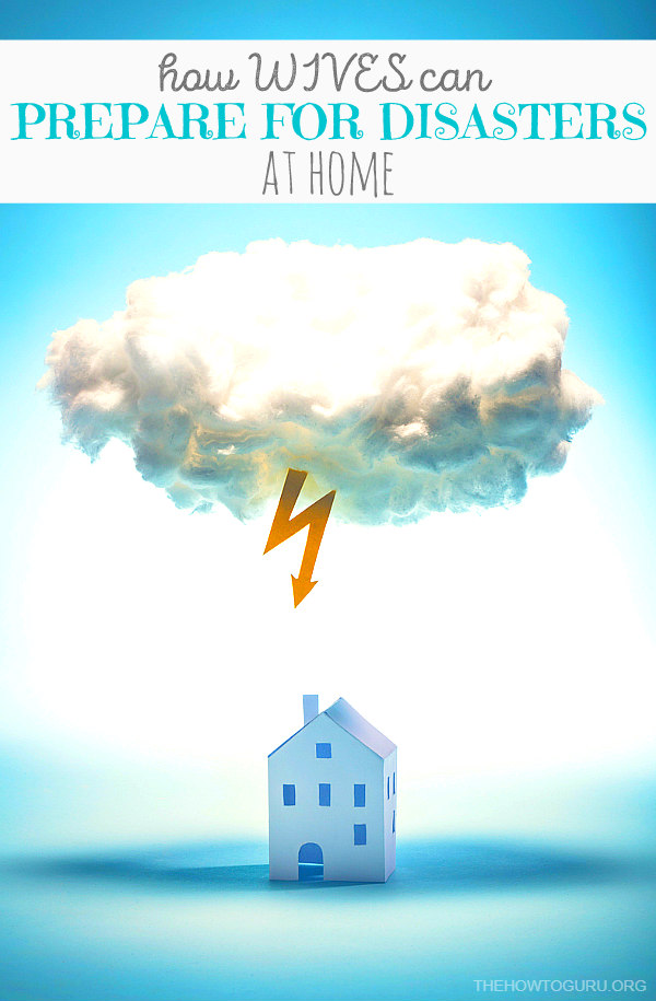 How To Prepare For A Hurricane & Other Disasters For Wives - Lightening striking a house