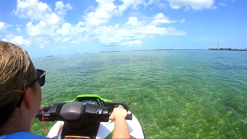 One of the top 9 Key West vacation ideas - Key West Jet Ski Tour the island