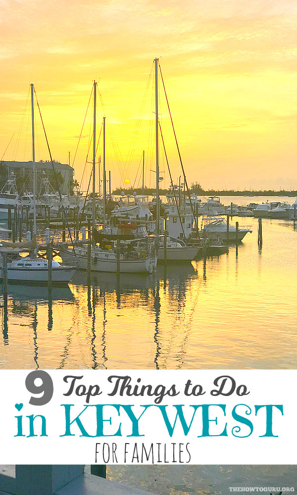 Key West Vacation Ideas Guide: 9 Top Things To Do For Families- Key West Sunset