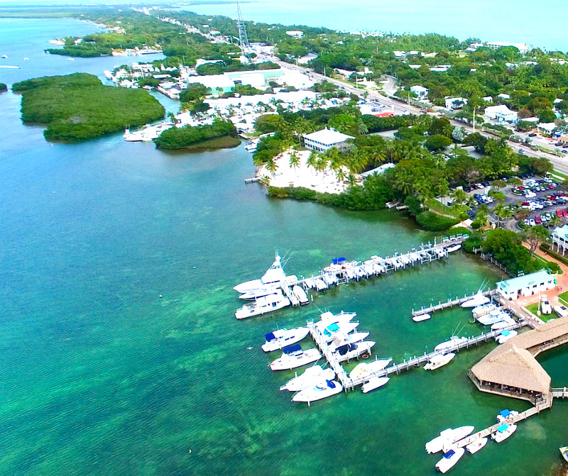 Family Travel Guide to Islamorada Florida Keys - aerial of Islamorada