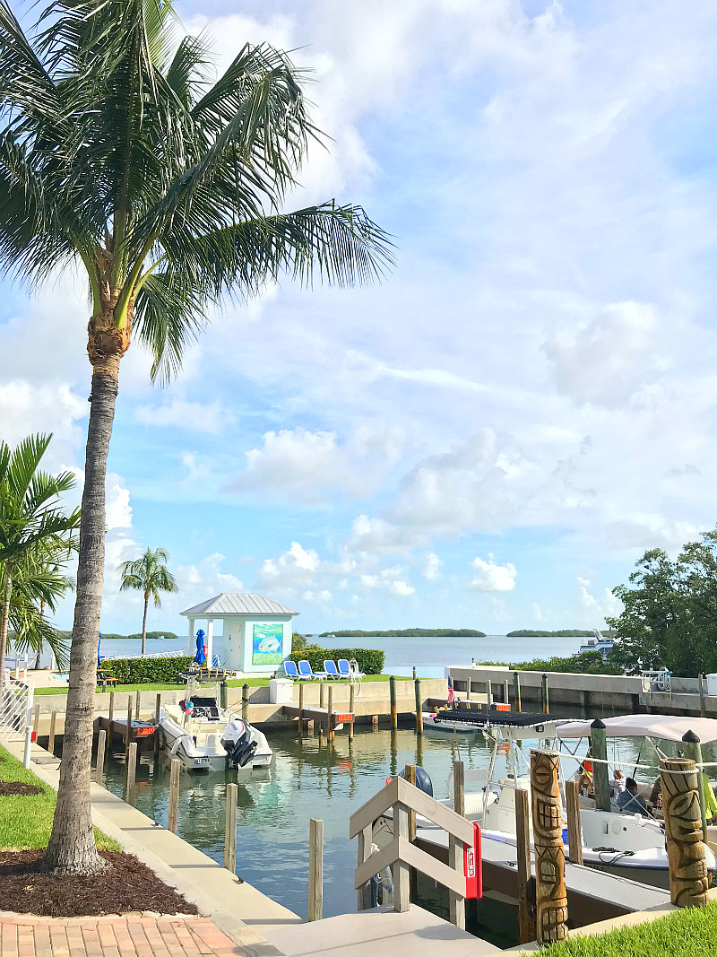 Family Travel Guide to Islamorada Florida Keys - Islamorada resorts boat slip
