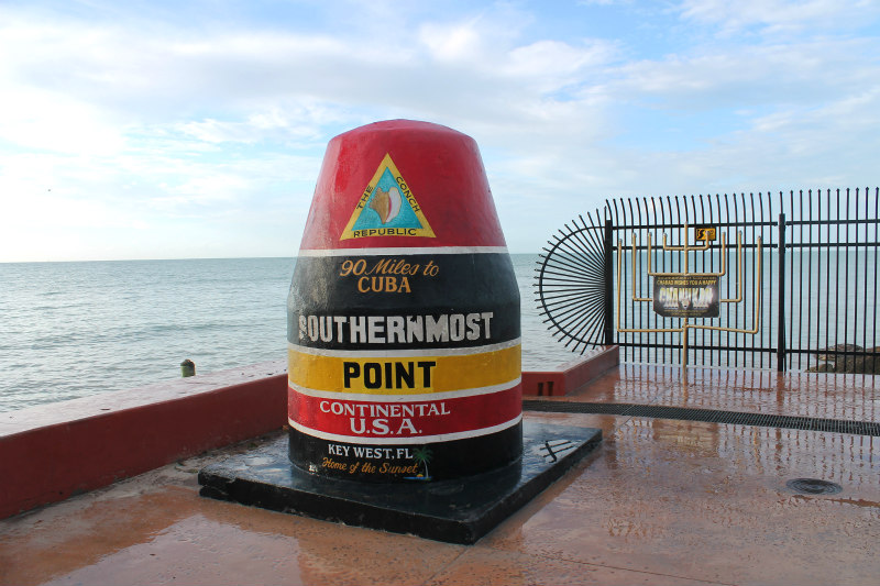 view of Key West Southernmost Point Buoy - Key West vacation ideas for families