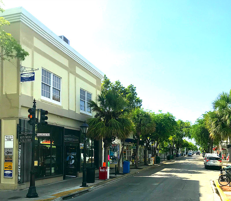 view of Duval Street Key West vacation ideas