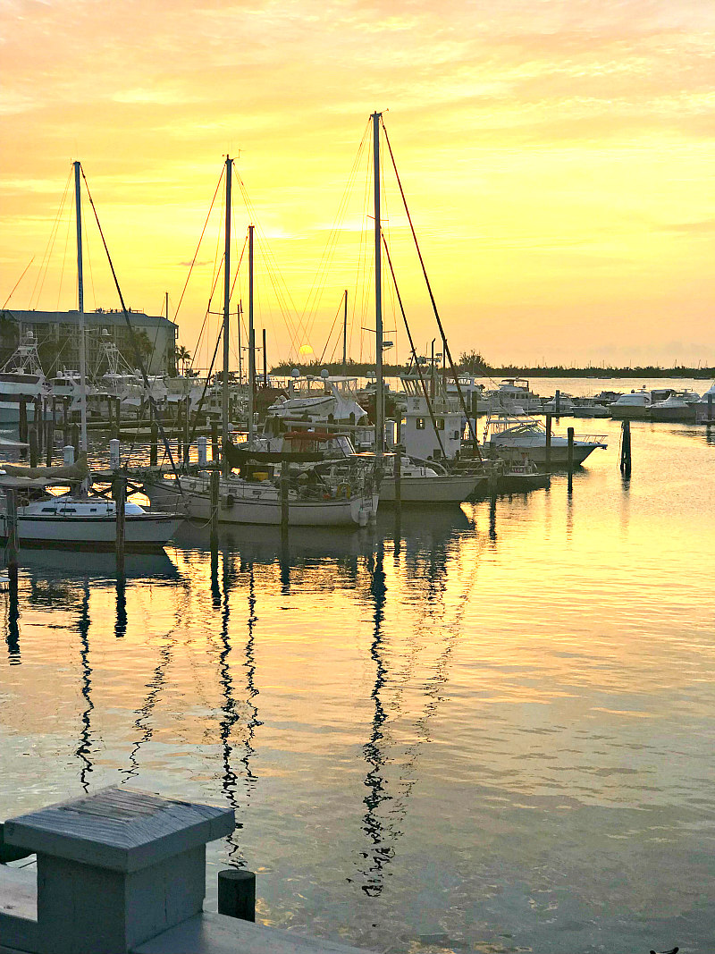 9 Top Key West Vacation Ideas - Key West Sunset from upper deck of Turtle Kraals Restaurant