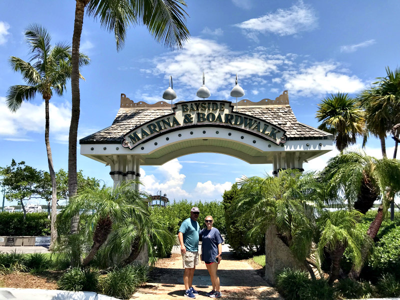 Family Travel Guide to Islamorada Florida Keys - Bayside Marina & Boardwalk at World Wide Sportsman