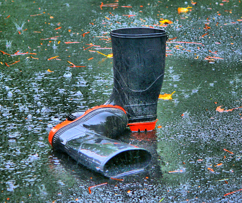 How To Prepare For A Hurricane & Other Disasters For Wives - Rain Boots
