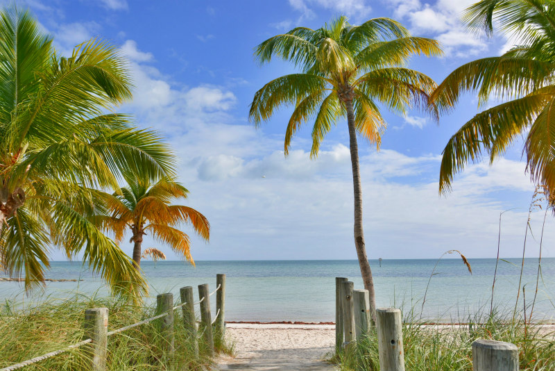 One of the top 9 Key West vacation ideas - Smathers Beach - Key West Beach