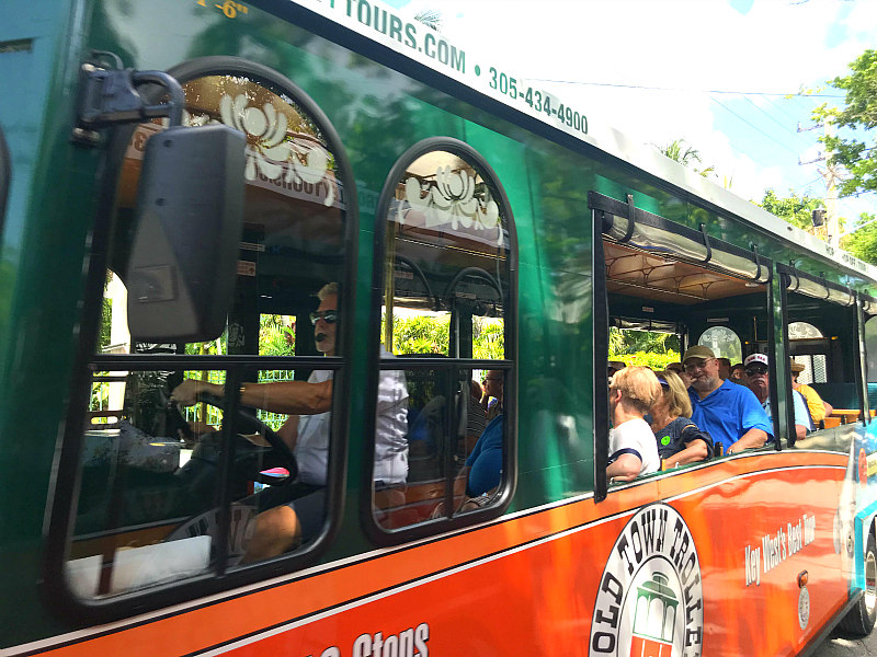 view of Old Town Trolley Tours & best Key West Vacation ideas for families