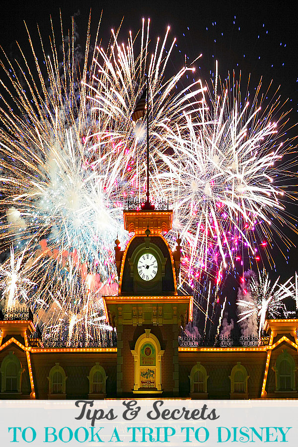 TOP Disney World Tips and Secrets - Image of Disney fireworks