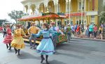 view of Main Street Disney dancers & Disney World Tips and Secrets
