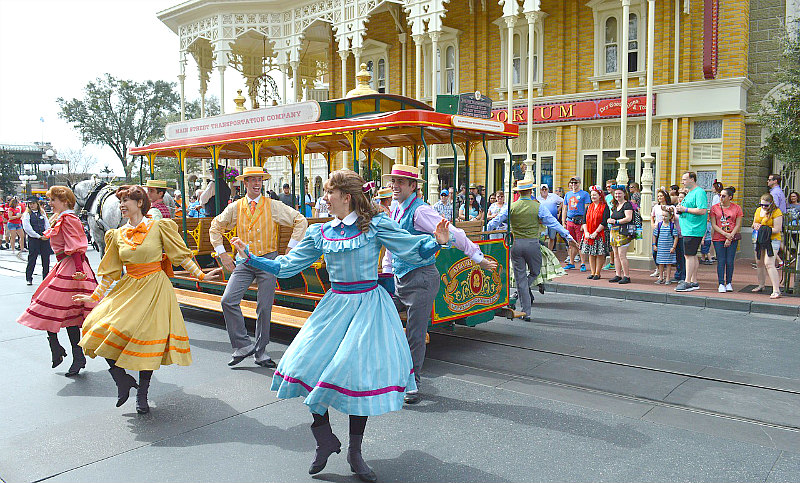 Top Disney World tips and secrets to plan that WDW Vacay - Main Street Dancers