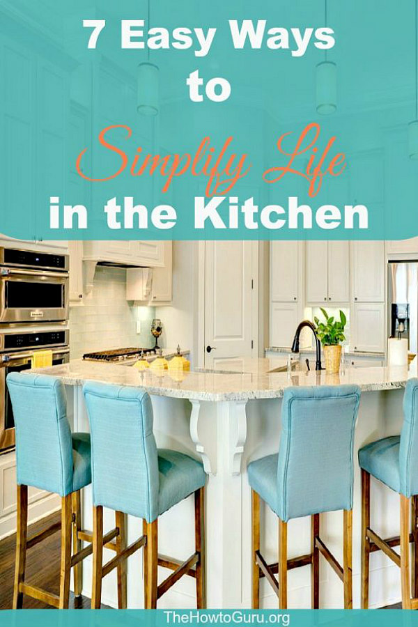 Simplify Life Kitchen with chairs