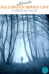 Halloween Movies scene of foggy wilderness person walking