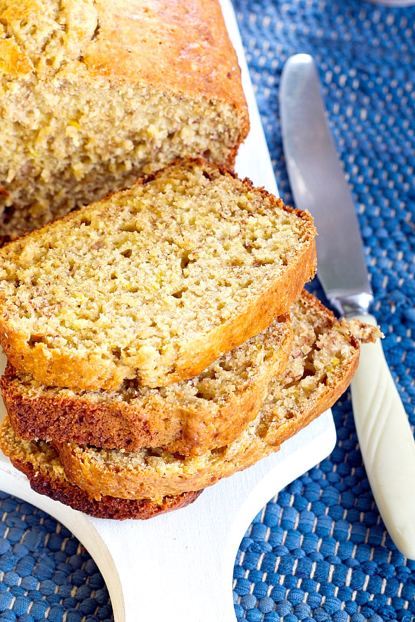 Gluten Free Banana Bread Recipe – Super Easy With Normal Ingredients