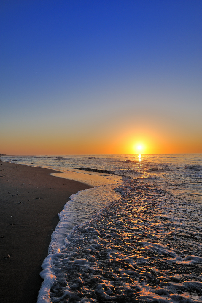 view of one of the winter vacations ideas ~ St George Island beach