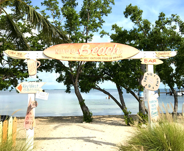 winter vacation ideas view of Islamorada Bay