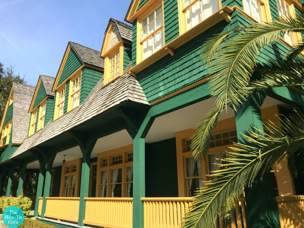 view of Jekyll Island History Tour Cottage of 1800s Millionaires