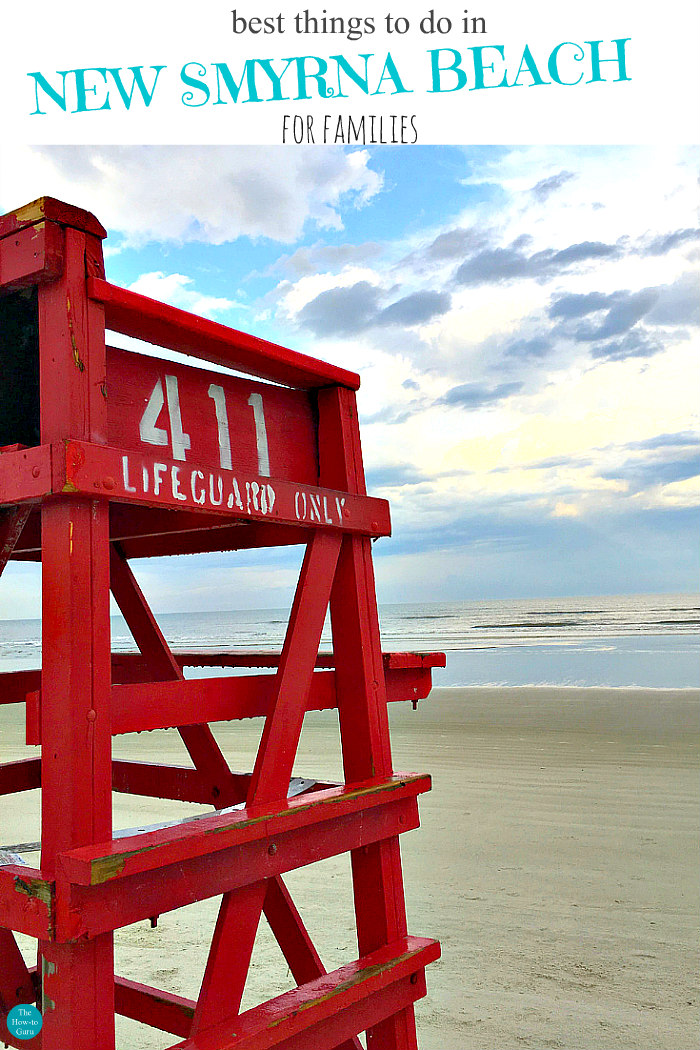 lifeguard stand - things to do in New Smyrna Beach Florida