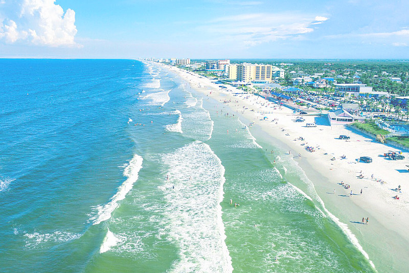 aerial view of shore - Things To Do In New Smyrna Beach