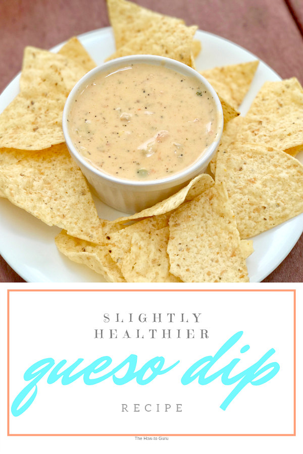 Image of queso dip and tortilla chips